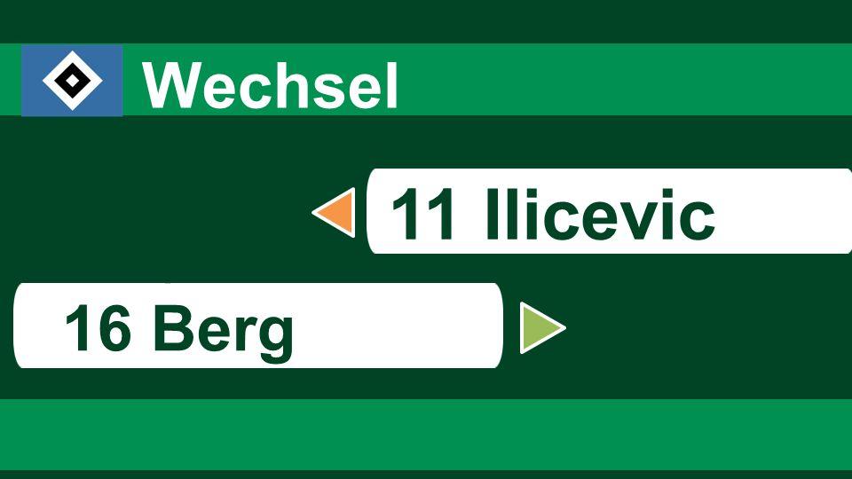 8484 8484 Wechsel 11 Ilicevic s 16 Berg 84