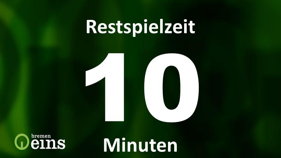 10 Restspielzeit Restspielzeit Minuten Restspielzeit 10 Min 9292 9292