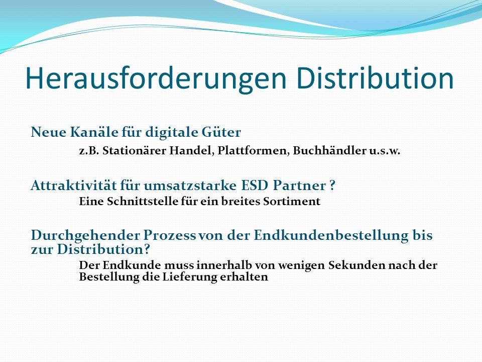 Herausforderungen Distribution