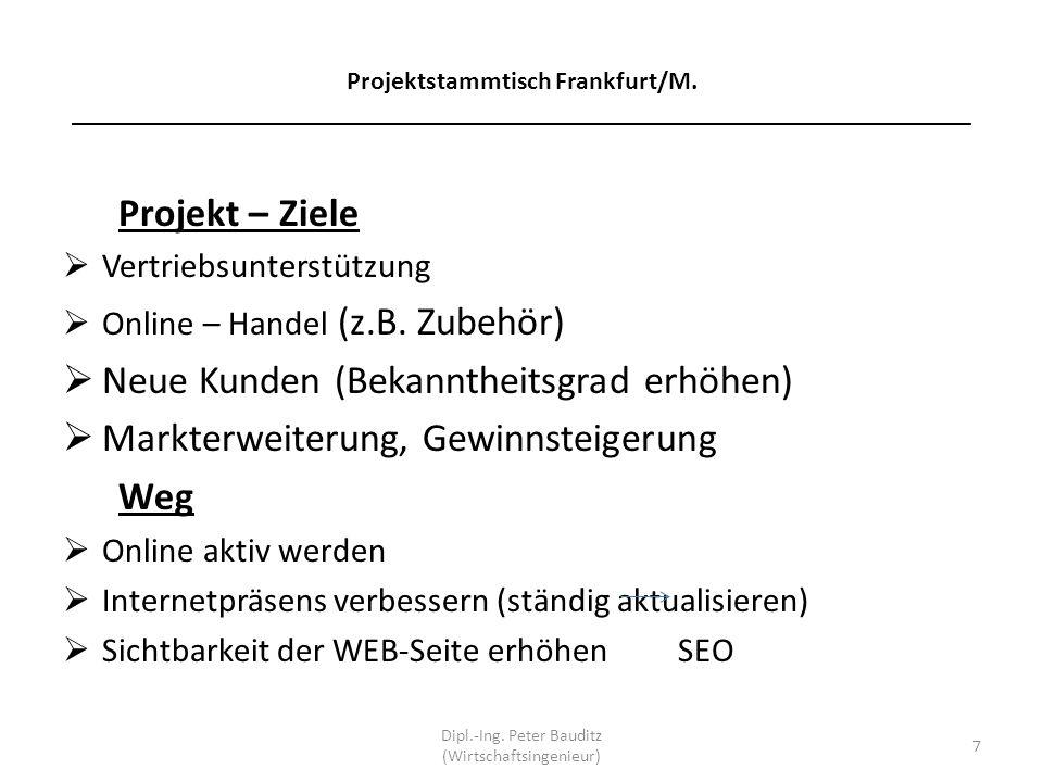 Dipl.-Ing. Peter Bauditz (Wirtschaftsingenieur)