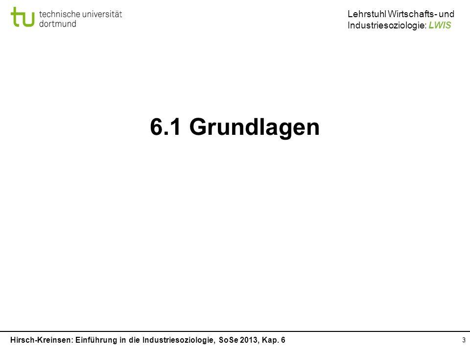 6.1 Grundlagen