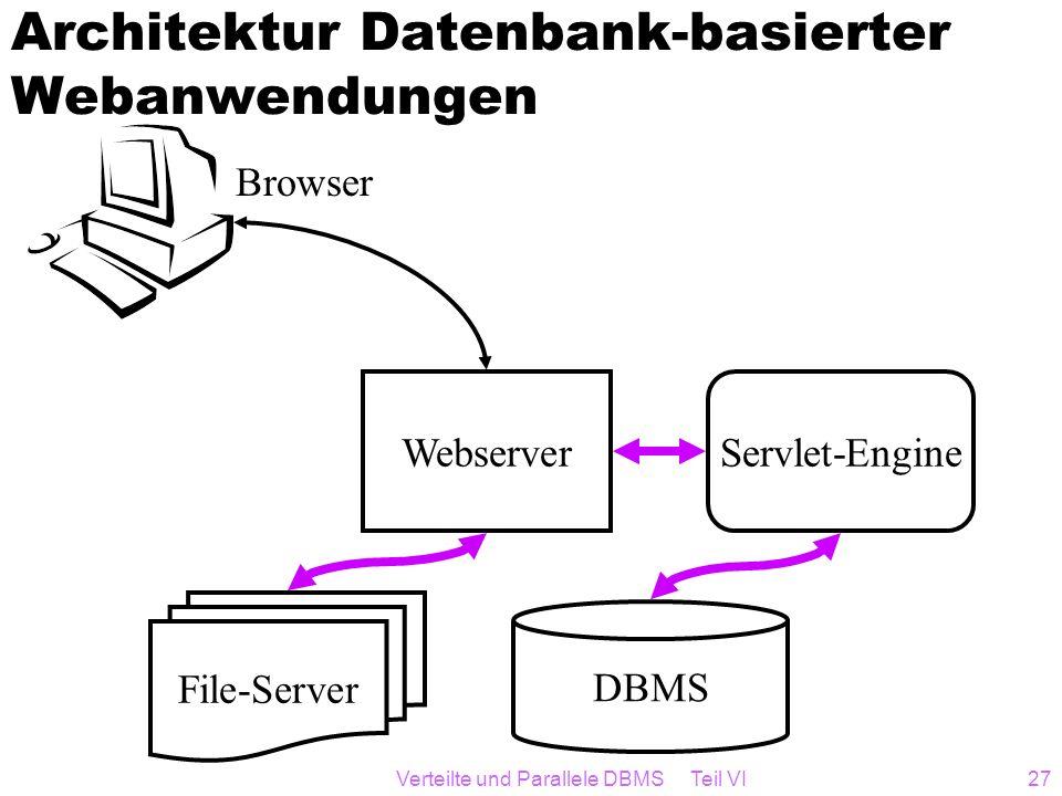 Architektur Datenbank-basierter Webanwendungen
