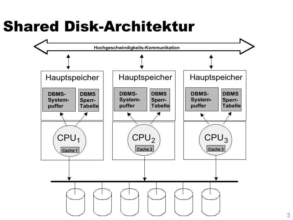 Shared Disk-Architektur