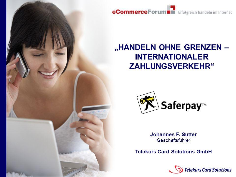 """""""HANDELN OHNE GRENZEN – INTERNATIONALER ZAHLUNGSVERKEHR"""