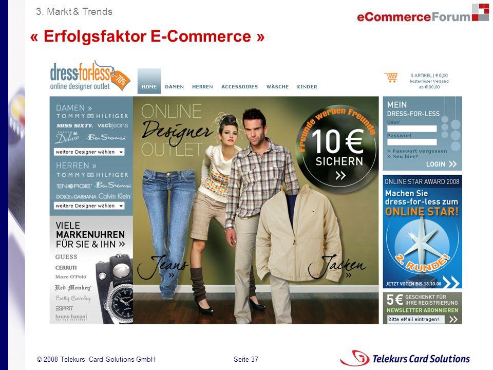 « Erfolgsfaktor E-Commerce »