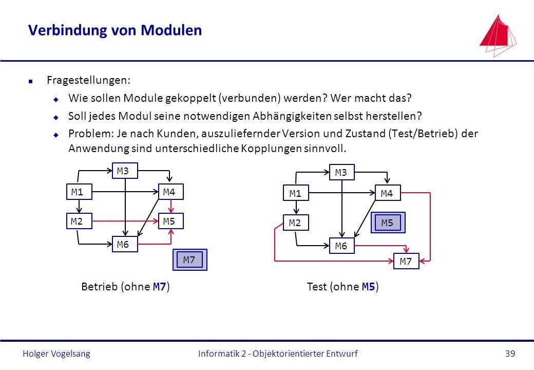 Verbindung von Modulen
