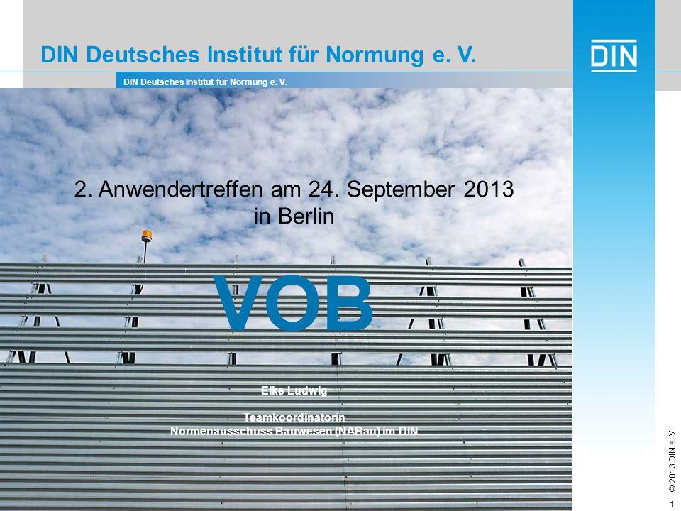 Normenausschuss Bauwesen (NABau) im DIN