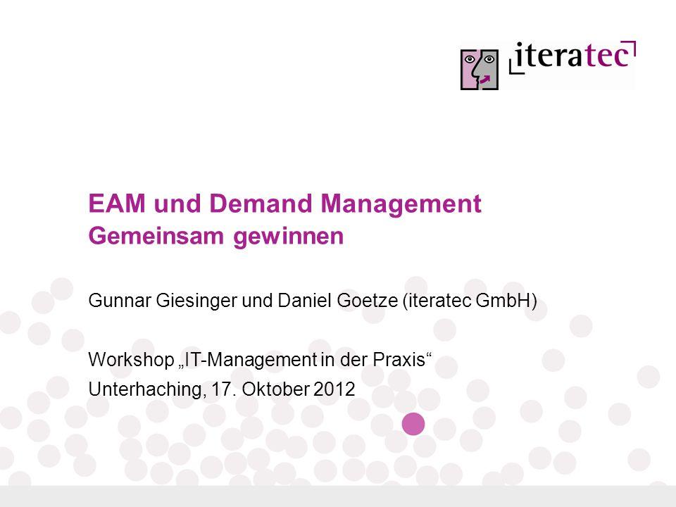 EAM und Demand Management Gemeinsam gewinnen