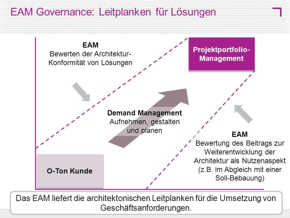 EAM Governance: Leitplanken für Lösungen