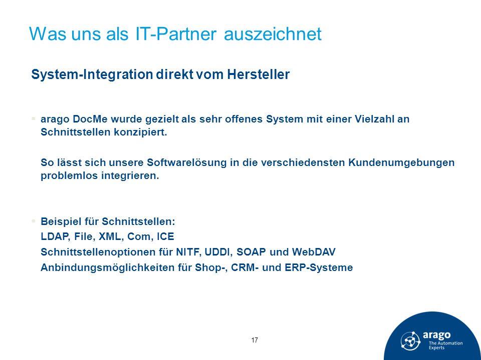 Was uns als IT-Partner auszeichnet
