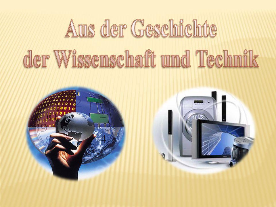 der Wissenschaft und Technik