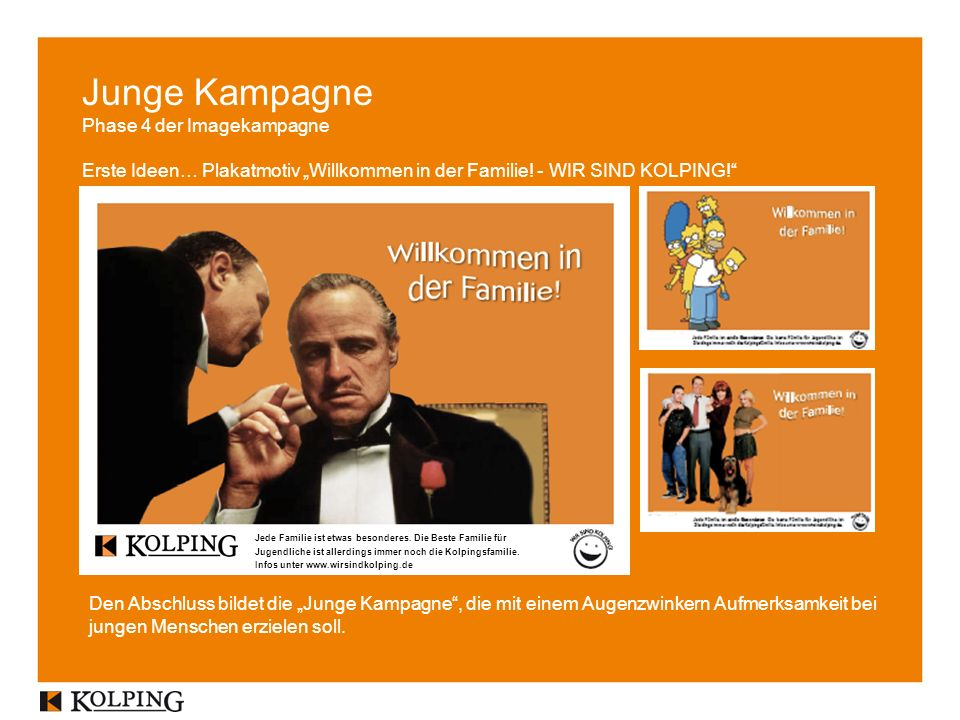 Junge Kampagne Phase 4 der Imagekampagne