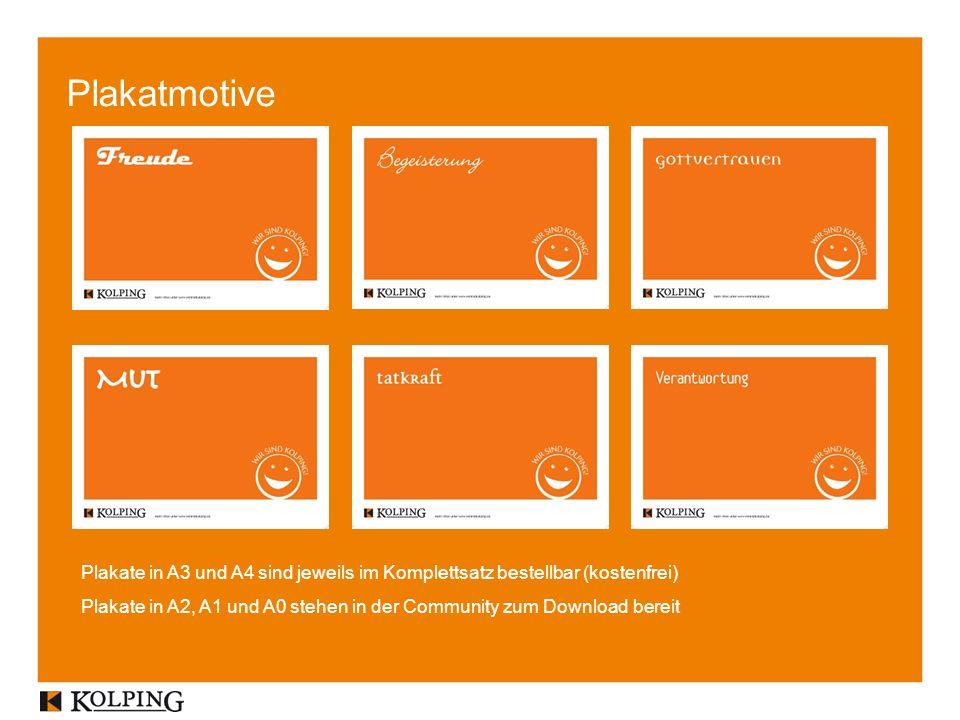 Plakatmotive Plakate in A3 und A4 sind jeweils im Komplettsatz bestellbar (kostenfrei)