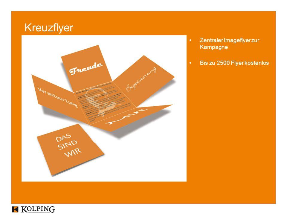 Kreuzflyer Zentraler Imageflyer zur Kampagne