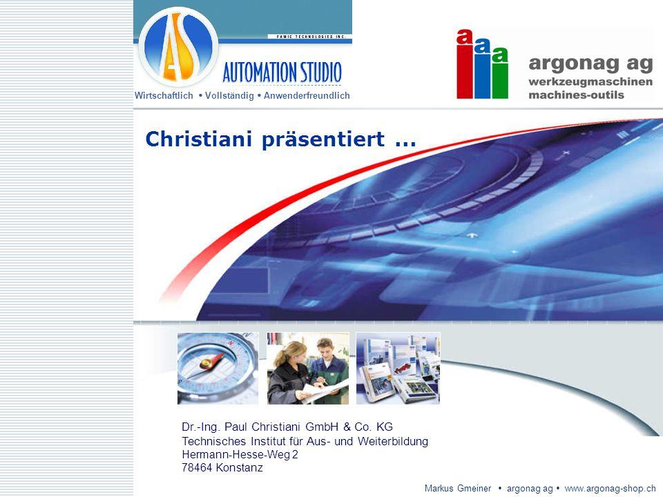 Christiani präsentiert ...