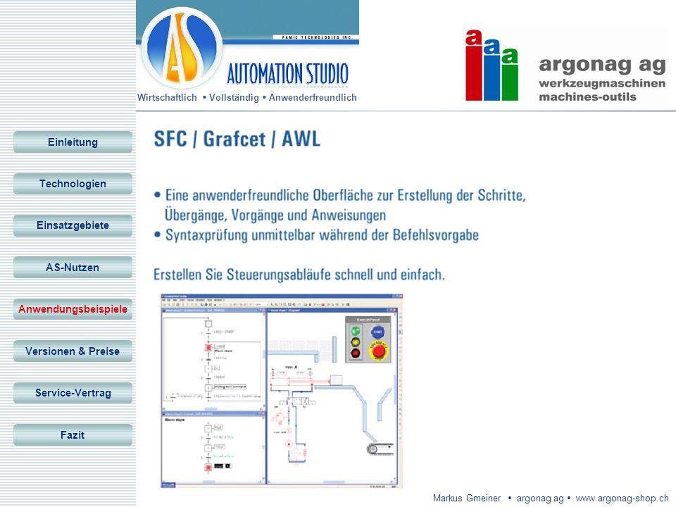 EinleitungTechnologien. Einsatzgebiete. AS-Nutzen. Anwendungsbeispiele. Versionen & Preise. Service-Vertrag.