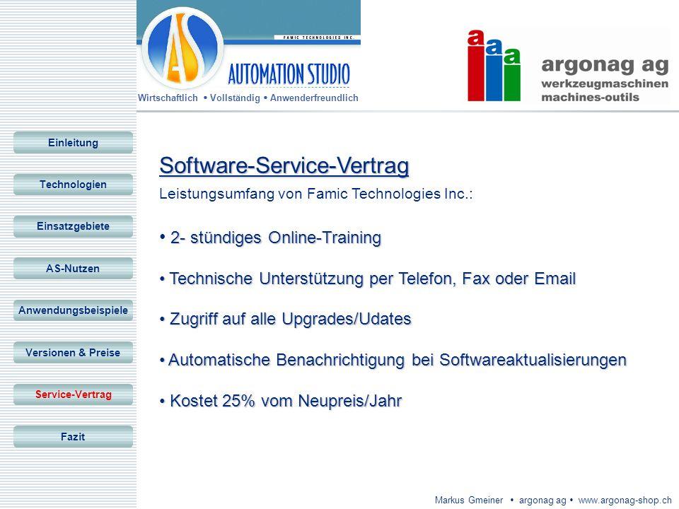 Software-Service-Vertrag