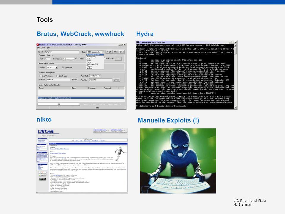 Brutus, WebCrack, wwwhack Hydra