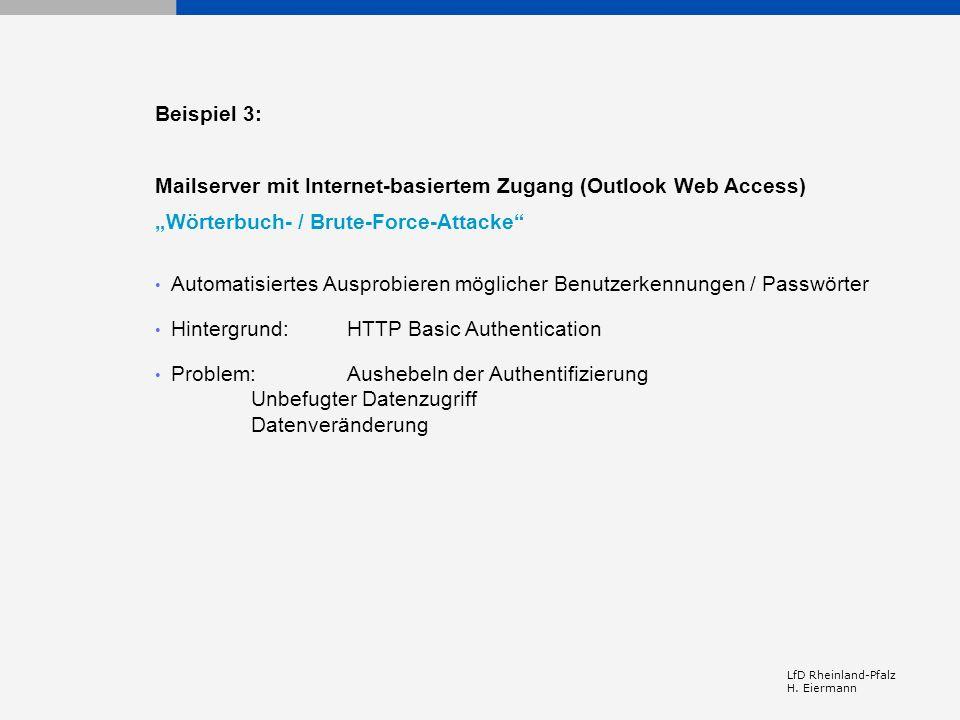 Mailserver mit Internet-basiertem Zugang (Outlook Web Access)