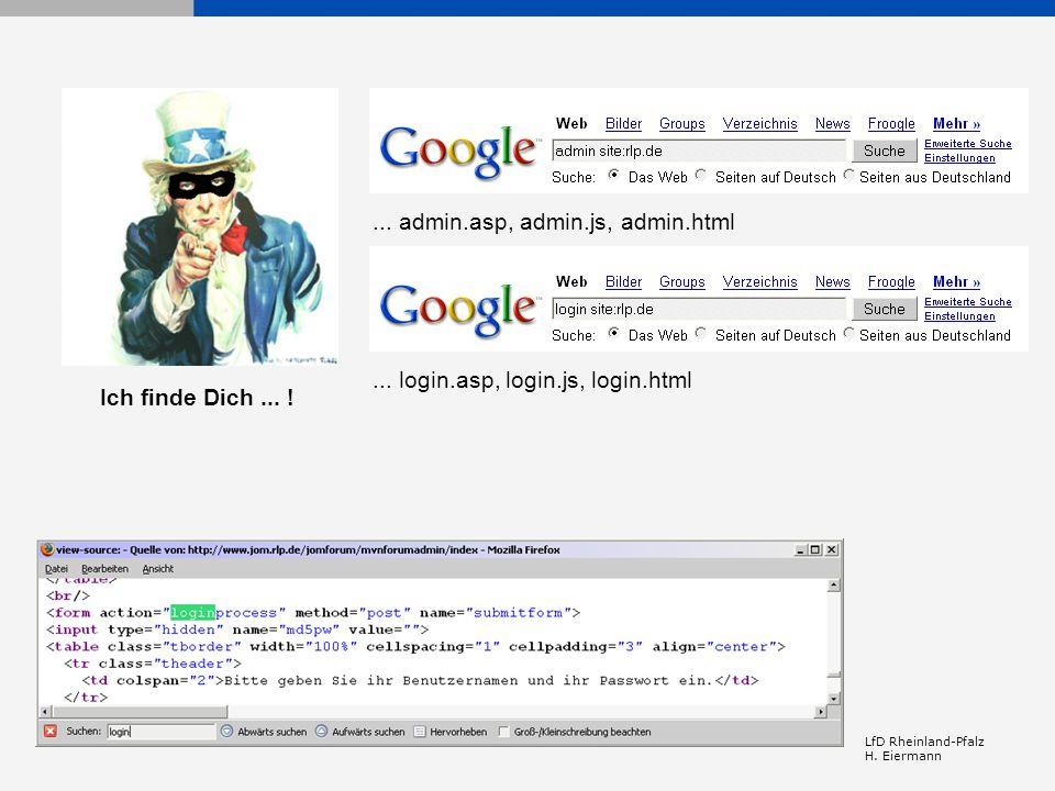 ... admin.asp, admin.js, admin.html