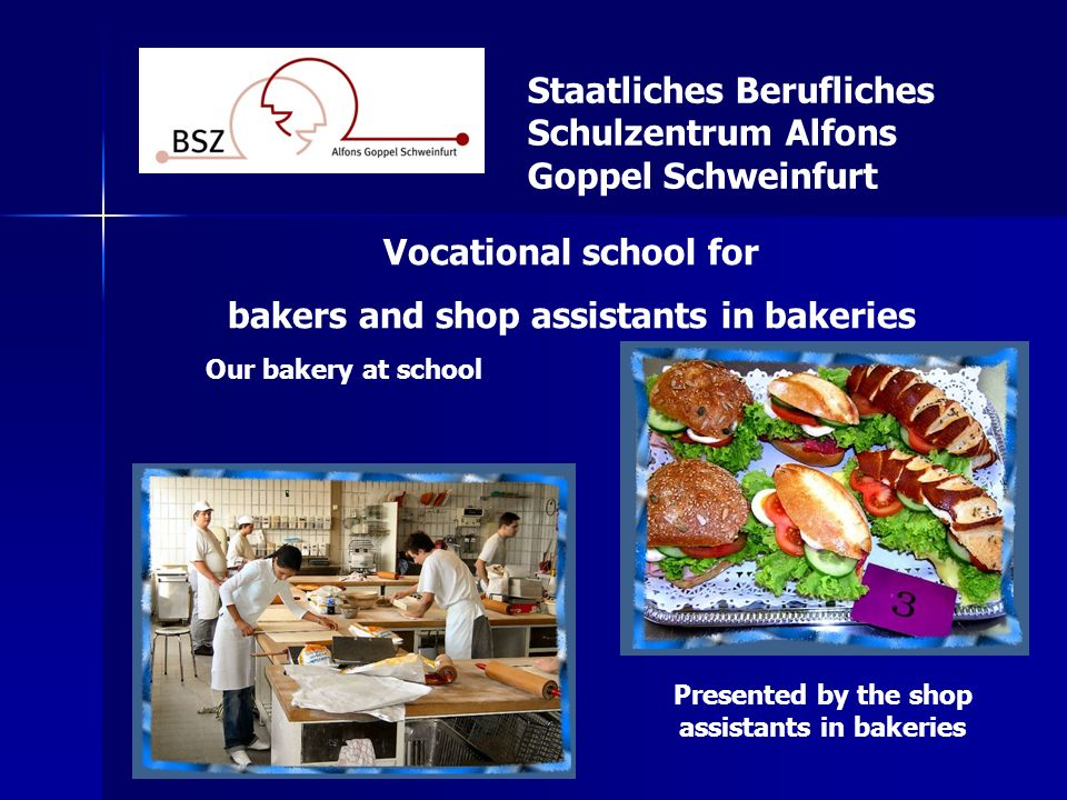 bakers and shop assistants in bakeries