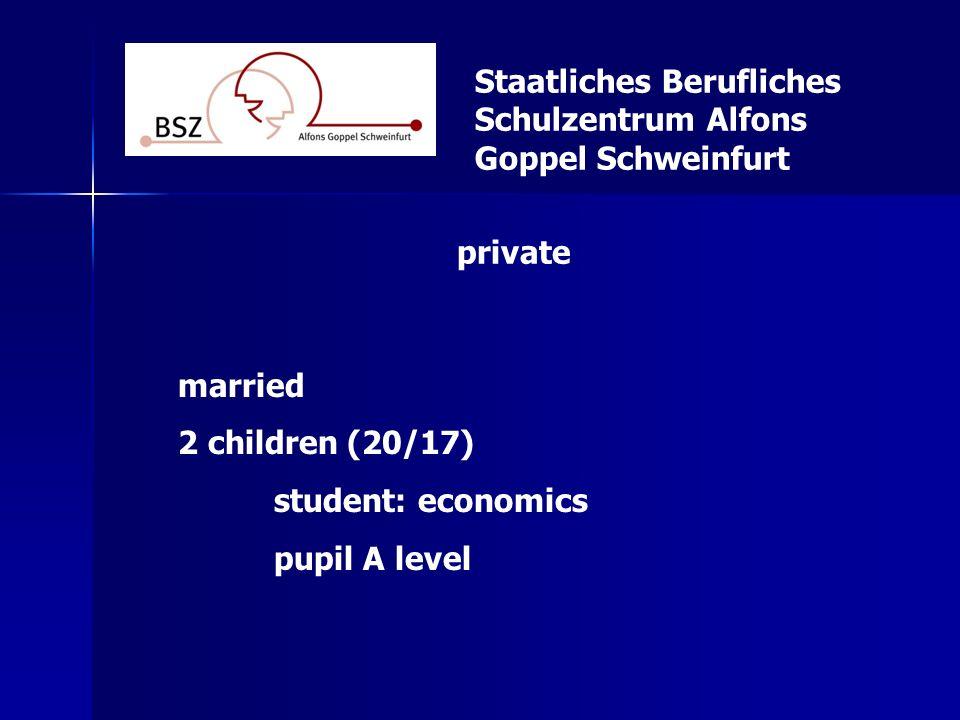 Staatliches Berufliches Schulzentrum Alfons Goppel Schweinfurt