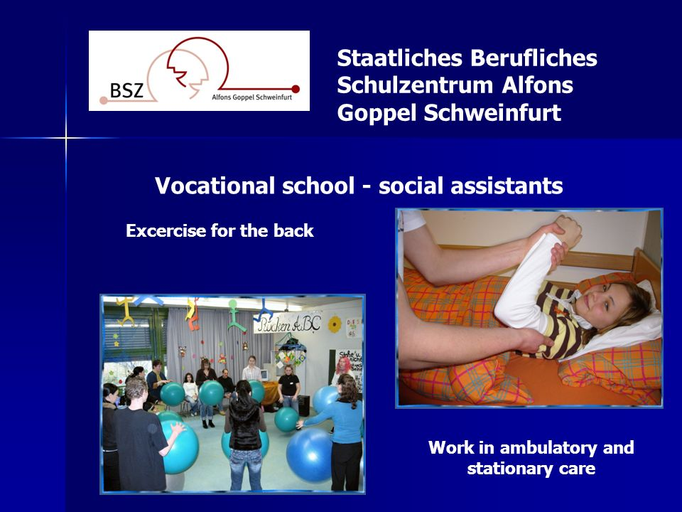 Vocational school - social assistants