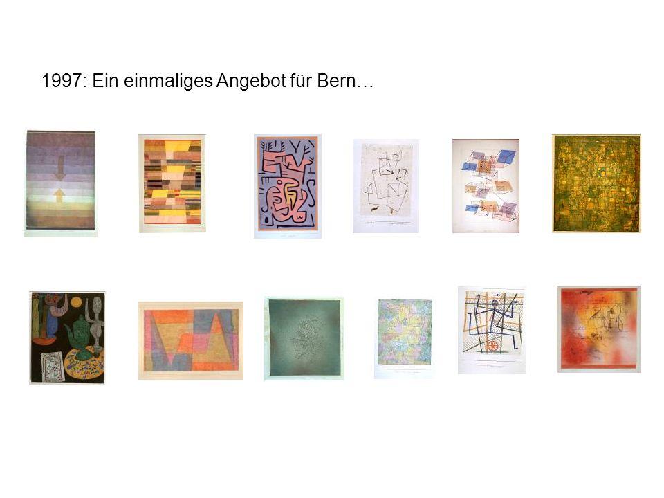 1997: Ein einmaliges Angebot für Bern…