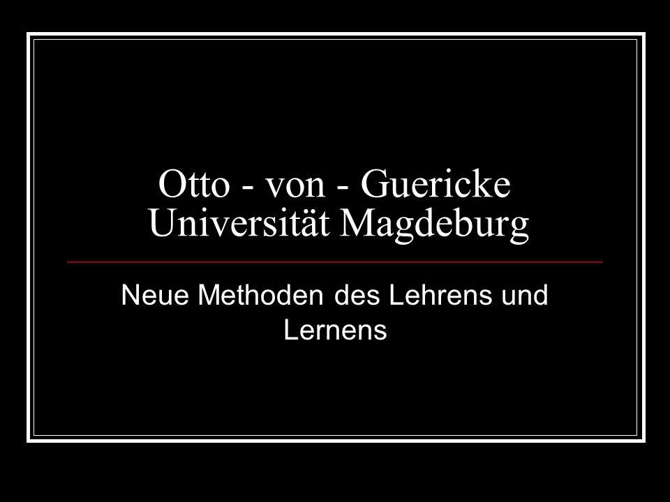 Otto - von - Guericke Universität Magdeburg