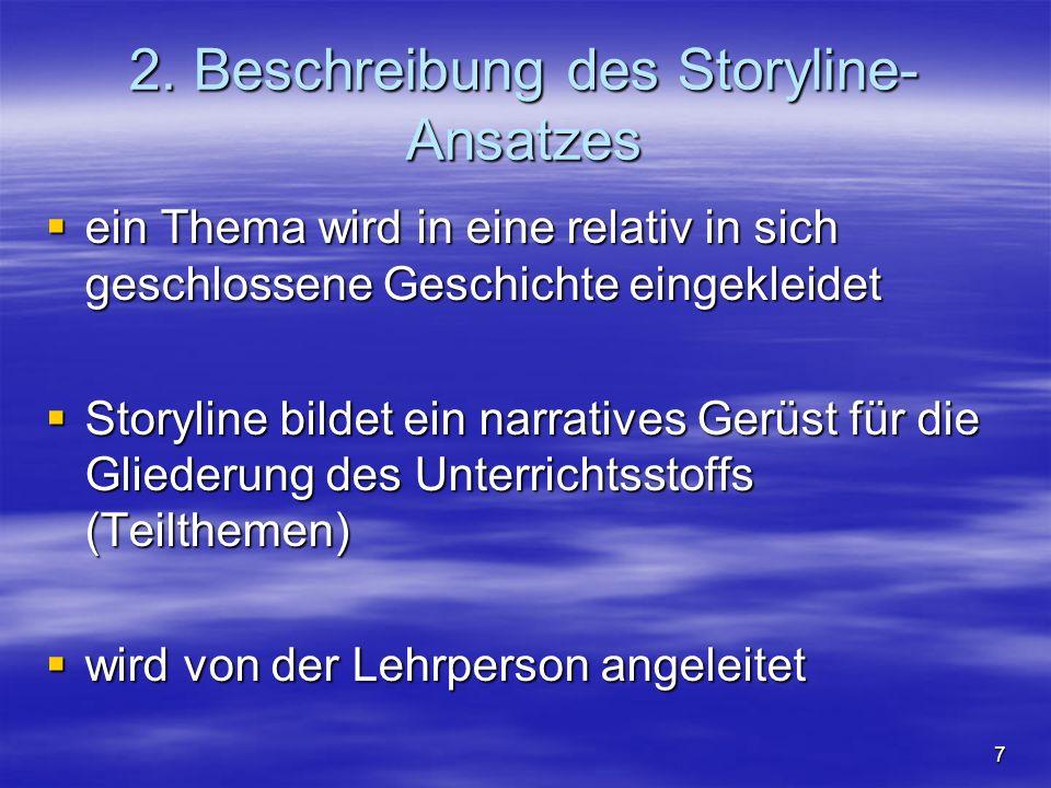 2. Beschreibung des Storyline- Ansatzes