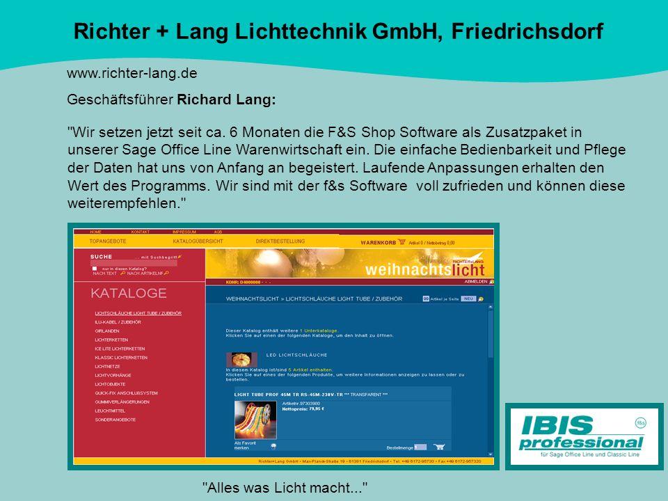 Richter + Lang Lichttechnik GmbH, Friedrichsdorf