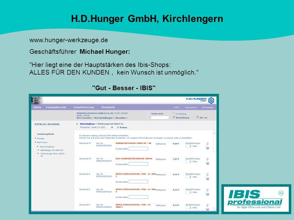 H.D.Hunger GmbH, Kirchlengern