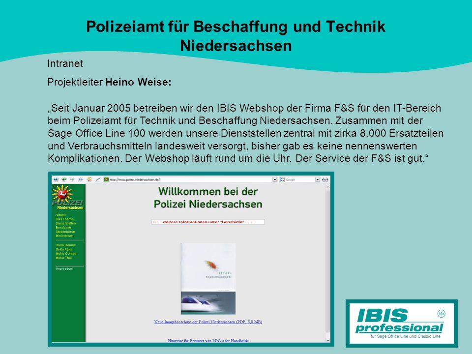 Polizeiamt für Beschaffung und Technik Niedersachsen