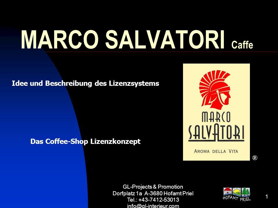 Das Coffee-Shop Lizenzkonzept