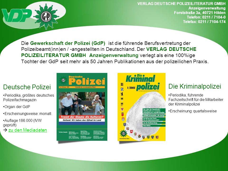 Die Kriminalpolizei Deutsche Polizei