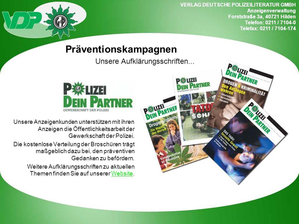 Präventionskampagnen