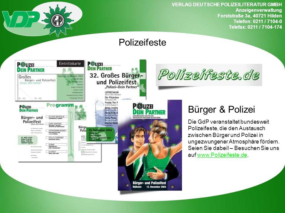 Polizeifeste Bürger & Polizei