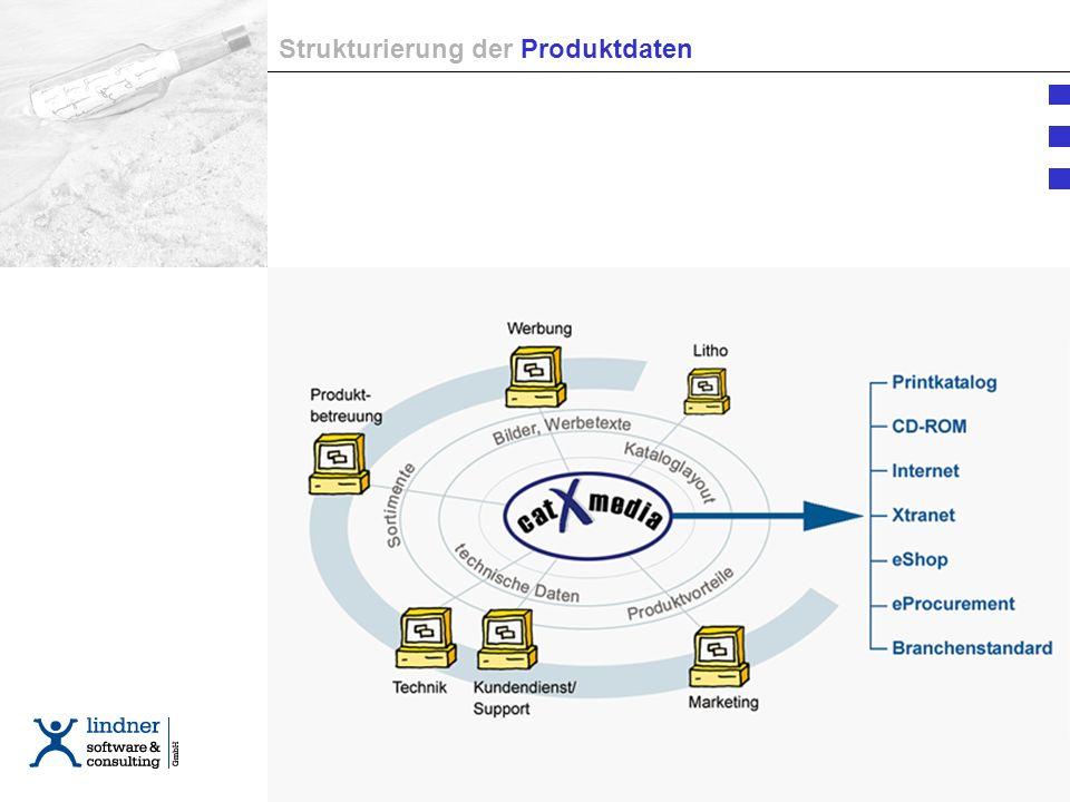 Strukturierung der Produktdaten