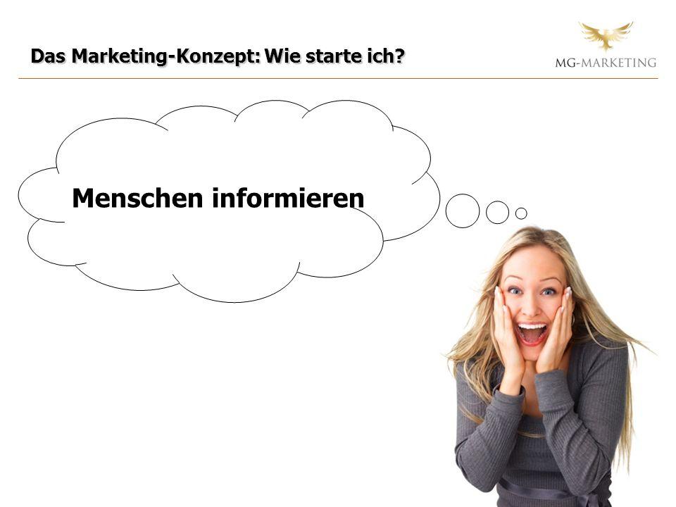 Das Marketing-Konzept: Wie starte ich