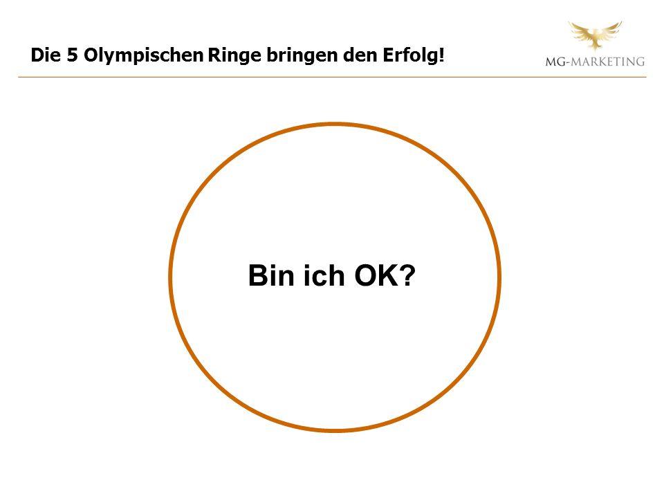 Die 5 Olympischen Ringe bringen den Erfolg!