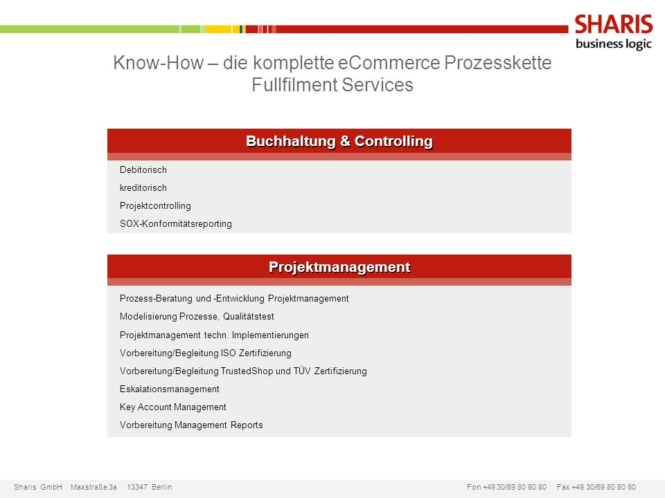 Buchhaltung & Controlling