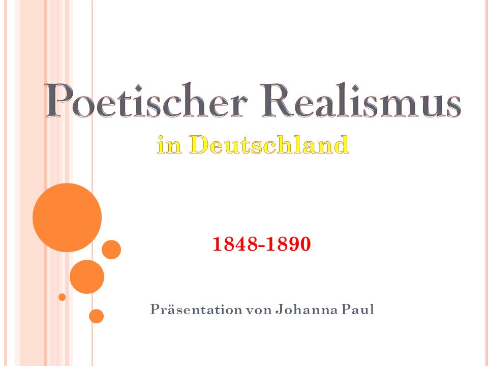 Präsentation von Johanna Paul