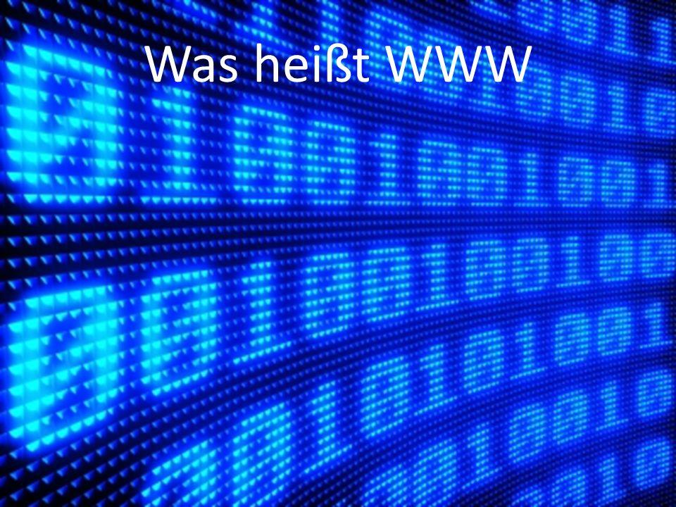 Was heißt WWW