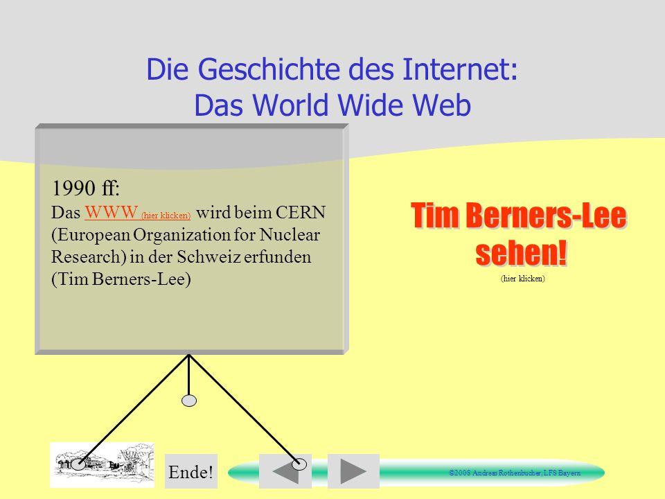 Die Geschichte des Internet: Das World Wide Web