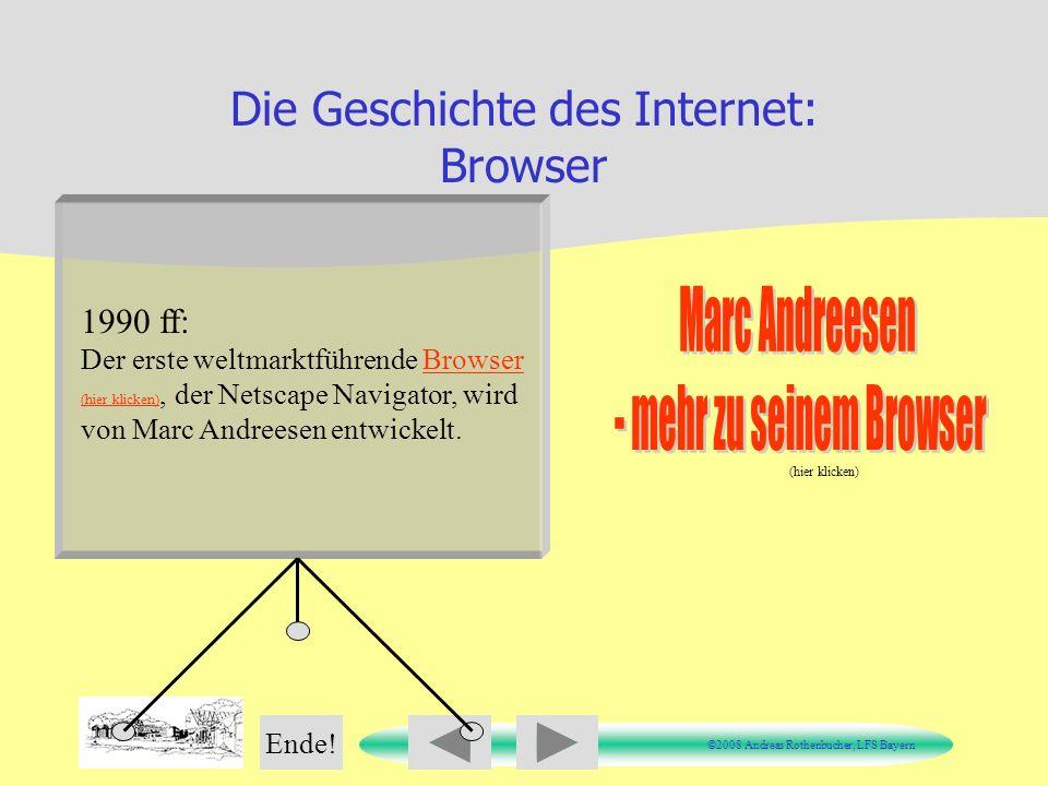 Die Geschichte des Internet: Browser