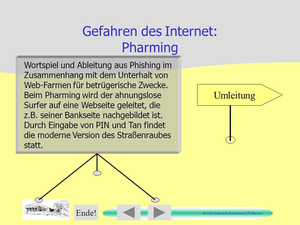Gefahren des Internet: Pharming