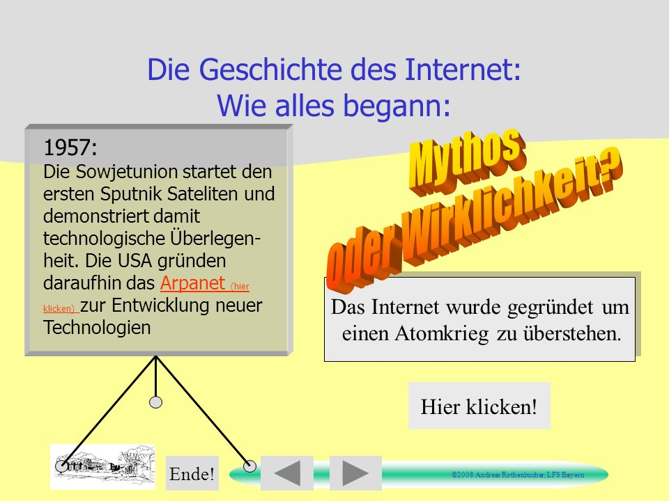 Die Geschichte des Internet: Wie alles begann:
