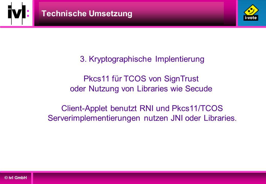 Client-Applet benutzt RNI und Pkcs11/TCOS
