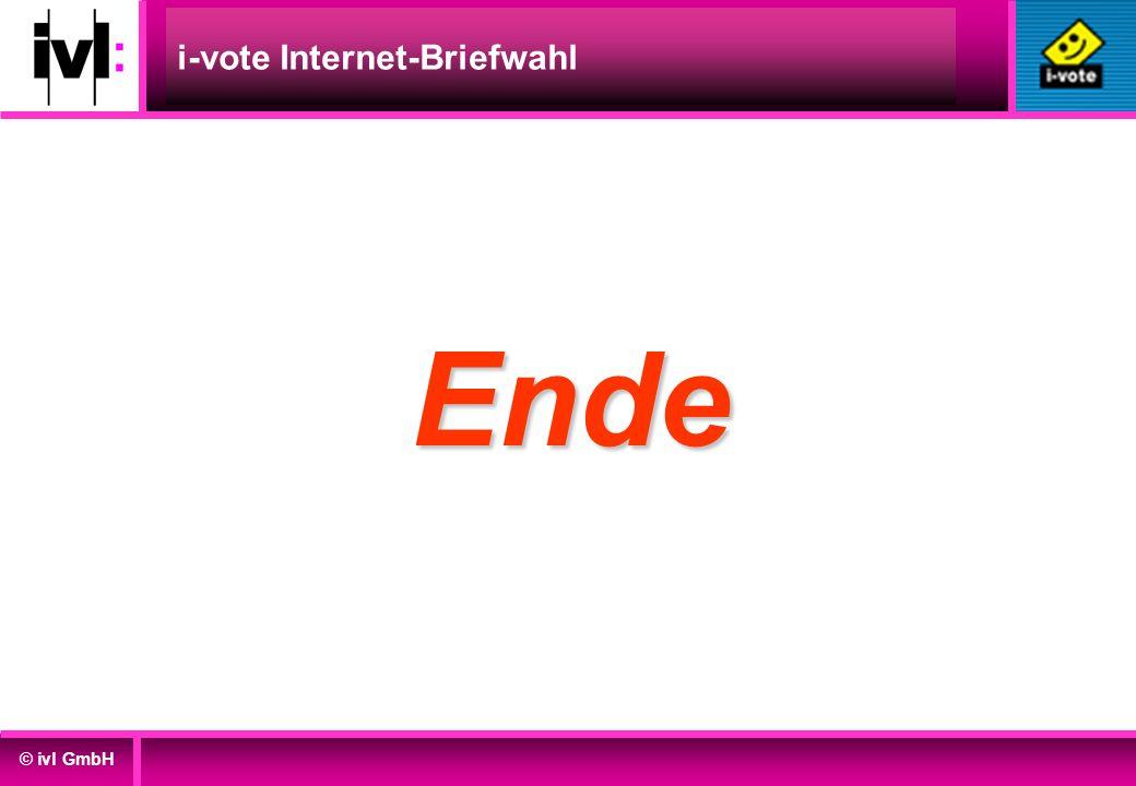 i-vote Internet-Briefwahl