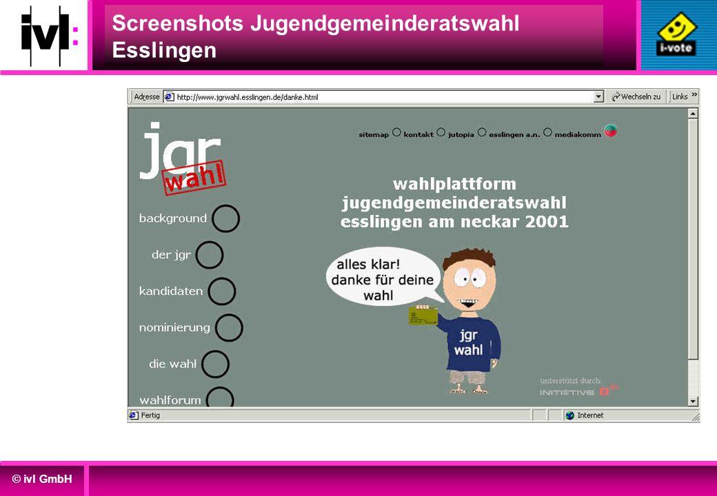 Screenshots Jugendgemeinderatswahl Esslingen